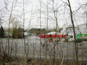 Warenannahme bei Wiesenhof in Niederlehme