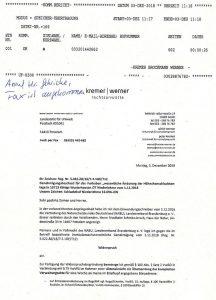 Widerspruch-Wiesenhof-KW
